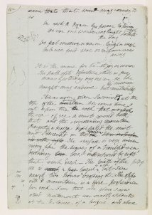 Mary Shelley draft of Frankenstein, digitized by the Bodleian Library.